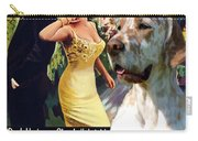 English Setter Art Canvas Print - Come September Movie Poster Carry-all Pouch