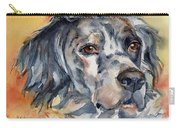 English Setter Portrait Carry-all Pouch