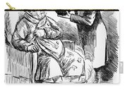 English Tax Cartoon, 1860 Carry-all Pouch