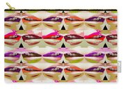 Enjoy Bliss Of Artistic Sensual Aura Lips  Kiss Romance Pattern Digital Graphic Signature   Art  Nav Carry-all Pouch
