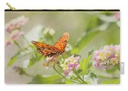 Enjoy The Little Things Carry-all Pouch by Kim Hojnacki