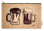 Enjoying Beer Carry-all Pouch