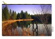 Enjoying The View At Grace Lake Carry-all Pouch