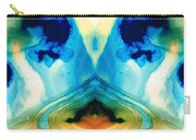 Enlightenment - Abstract Art By Sharon Cummings Carry-all Pouch