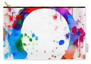 Enso Circle Paint Splatter Carry-all Pouch