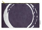 Enso No. 107 Purple Carry-all Pouch