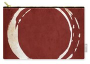 Enso No. 107 Red Carry-all Pouch by Julie Niemela
