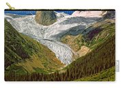Entering The Bugaboos Impasto Carry-all Pouch