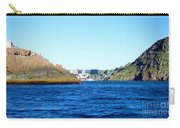 Entering The Narrows Near Fort Amherst Rock By Barbara Griffin Carry-all Pouch