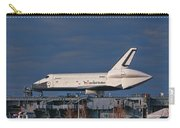 Enterprise At The Intrepid Carry-all Pouch by S Paul Sahm