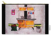 Enterprise Woodstove - Yellow Carry-all Pouch by Barbara Griffin