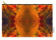 Entertaining Energy Abstract Pattern Artwork By Omaste Witkowski Carry-all Pouch