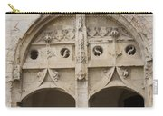 Entrance Fontevraud Abbey- France Carry-all Pouch