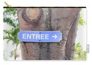 Entrance Sign Carry-all Pouch
