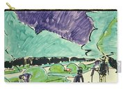 Entrance To A Large Garden In Dresden Carry-all Pouch by Ernst Ludwig Kirchner