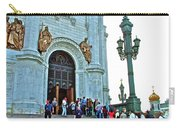Entrance To Christ The Savior Cathedral In Moscow-russia Carry-all Pouch