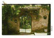 Entrance To Romeo And Juliet House Carry-all Pouch