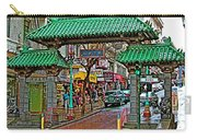 Entry Gate To Chinatown In San Francisco-california Carry-all Pouch