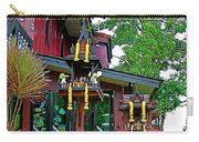 Entry Of A Thai Teak Home In Bangkok-thailand Carry-all Pouch