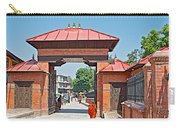 Entry To Pasupatinath Temple Of Cremation Complex In Kathmandu-nepal    Carry-all Pouch