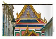 Entryway To Middle Court Of Grand Palace Of Thailand In Bangkok Carry-all Pouch