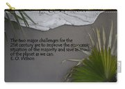 E.o. Wilson Quote Carry-all Pouch
