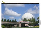 Epcot And The Monorail Ride Carry-all Pouch