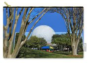 Epcot Globe 02 Carry-all Pouch by Thomas Woolworth