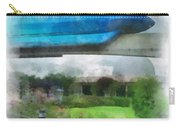 Epcot Globe And Blue Monorail Walt Disney World Photo Art 01 Carry-all Pouch