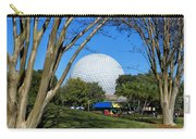 Epcot Globe Walt Disney World Carry-all Pouch