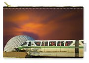 Epcot Riding The Rail Carry-all Pouch