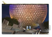 Epcot Spaceship Earth Carry-all Pouch