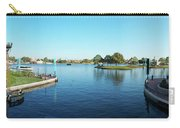 Epcot World Showcase Lagoon Panorama 05 Walt Disney World Carry-all Pouch
