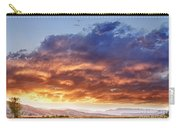 Epic Colorado Country Sunset Landscape Carry-all Pouch