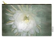 Epiphyllum Oxypetallum - Queen Of The Night Cactus Carry-all Pouch