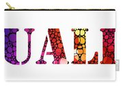 Equality For All 3 - Stone Rock'd Art By Sharon Cummings Carry-all Pouch