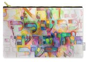 Erase The Name Of Amalek From Under The Heavens Do Not Forget 2 Carry-all Pouch