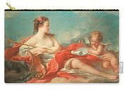 Erato  The Muse Of Love Poetry Carry-all Pouch by Francois Boucher