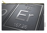 Erbium Chemical Element Carry-all Pouch