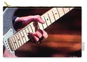 Eric Clapton Playing Guitar Carry-all Pouch