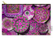 Erice Sicily Plates Pink Carry-all Pouch