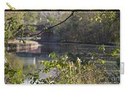 Erie Canal At Bushnell Basin Carry-all Pouch