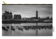Erie Lackawanna Terminal Sunset Bw Carry-all Pouch
