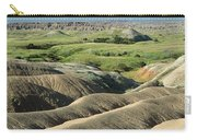 Eroded Landscape Badlands Np Carry-all Pouch
