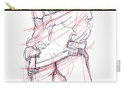 Erotic Art Drawings 6 Carry-all Pouch