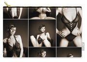 Erotic Beauty Collage 14 Carry-all Pouch
