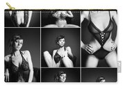Erotic Beauty Collage 16 Carry-all Pouch