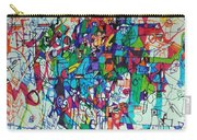 Escape From Hatred 1 Carry-all Pouch by David Baruch Wolk