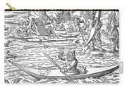 Eskimos Hunting, 1580 Carry-all Pouch