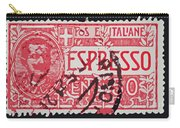 Espresso Italiano Vintage Postage Stamp Carry-all Pouch